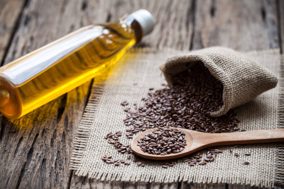 lubrificante ai semi di lino